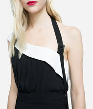 KARL LAGERFELD Pleated Dress with Strap 9_f