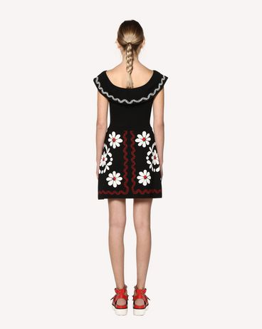 REDValentino RR0KDA12KZH WD0 Knit Dress Woman r