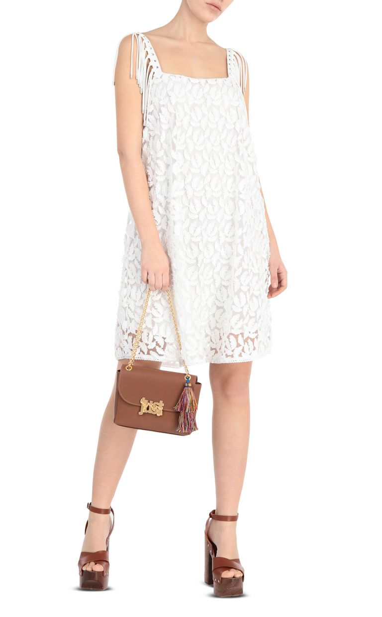 JUST CAVALLI Lace dress Short dress Woman d