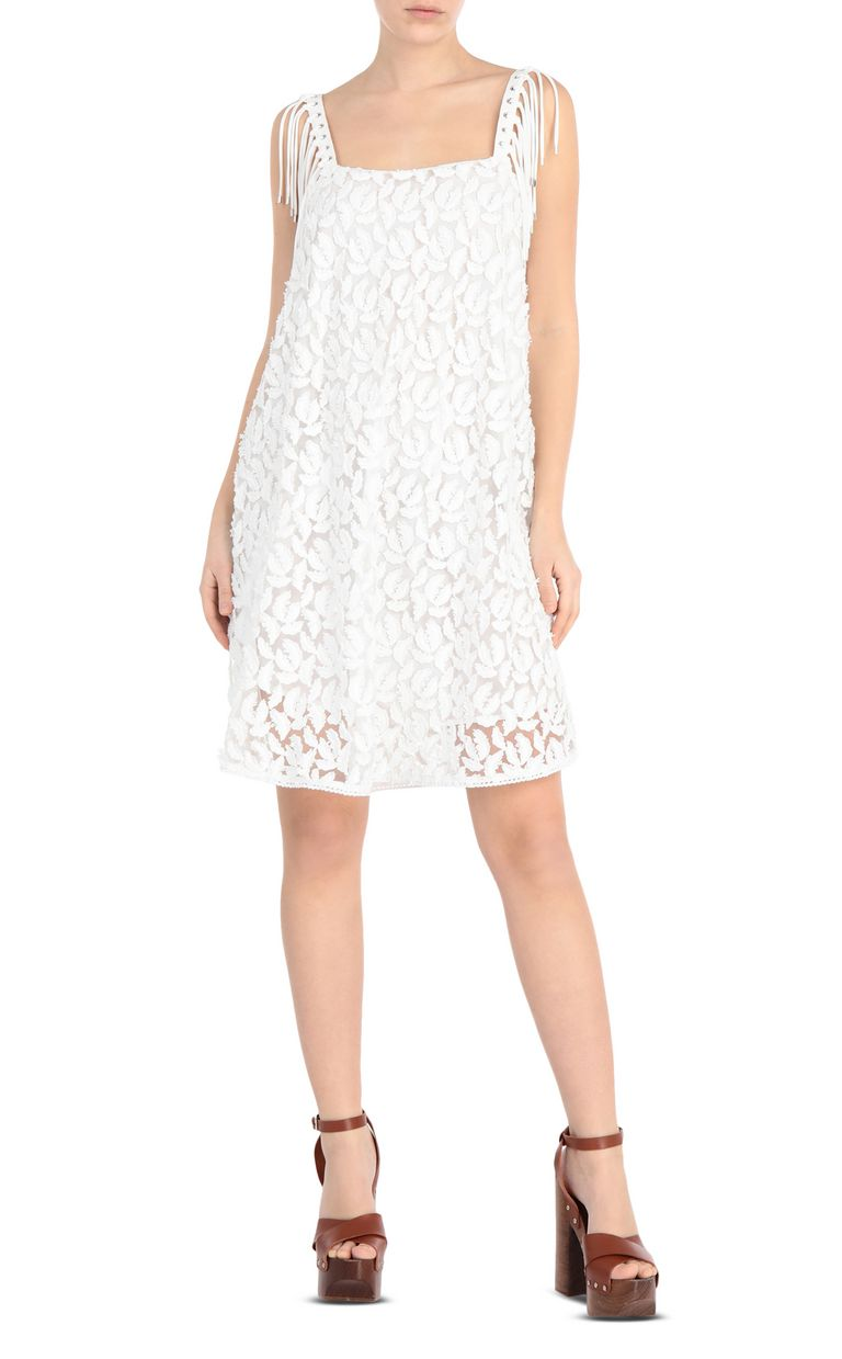 JUST CAVALLI Lace dress Short dress Woman f