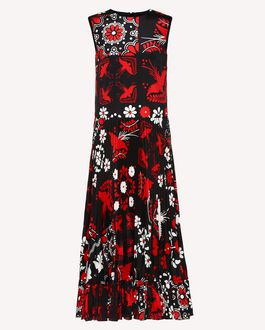 REDValentino Long dress Woman RR3VA00HCYB 0NO a