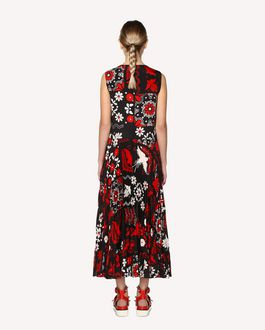REDValentino Decorated Terrace printed dress