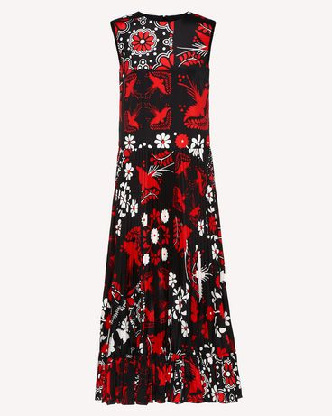 REDValentino RR0VAC15PZL 0NO Printed dress Woman a