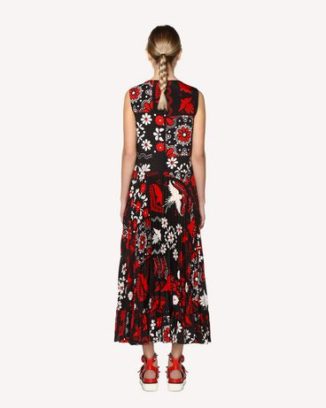 REDValentino RR0VAC15PZL 0NO Printed dress Woman r