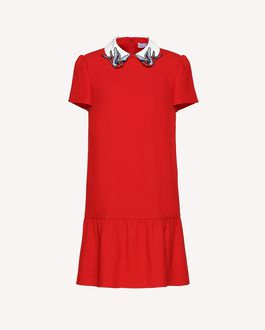 REDValentino Knit Dress Woman RR3KDA24TSJ D05 a
