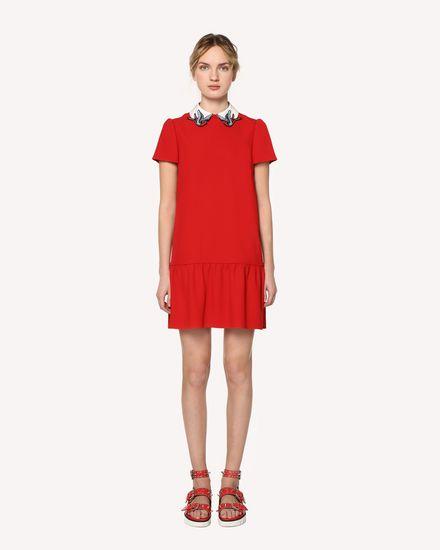 REDValentino Short dress Woman RR0VAE750W7 SZ0 f