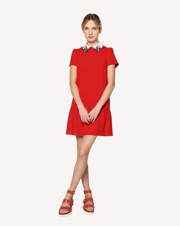 REDValentino RR0VAE750W7 SZ0 Short dress Woman d