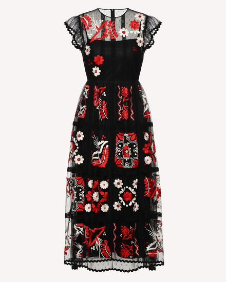 REDValentino Long dress Woman RR0VA02MMAI 0NO a