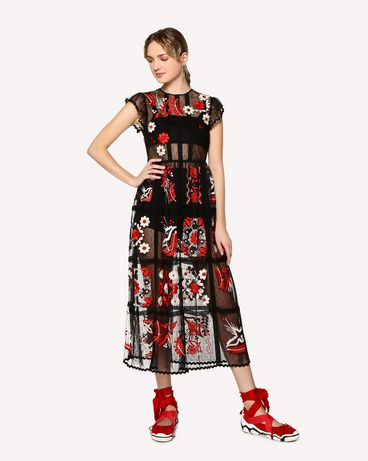 REDValentino RR0VA02MMAI 0NO Long and midi dresses Woman d