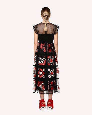 REDValentino RR0VA02MMAI 0NO Long and midi dresses Woman r