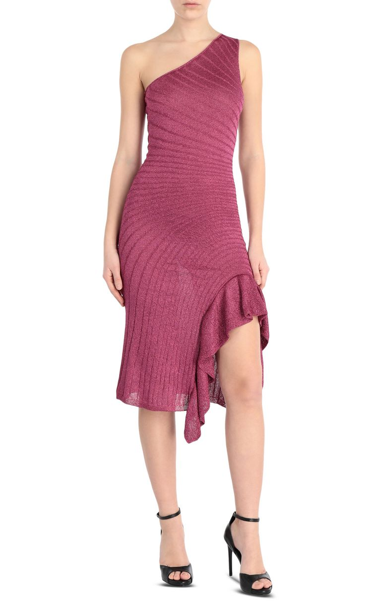 JUST CAVALLI Knitted lurex dress Dress Woman f
