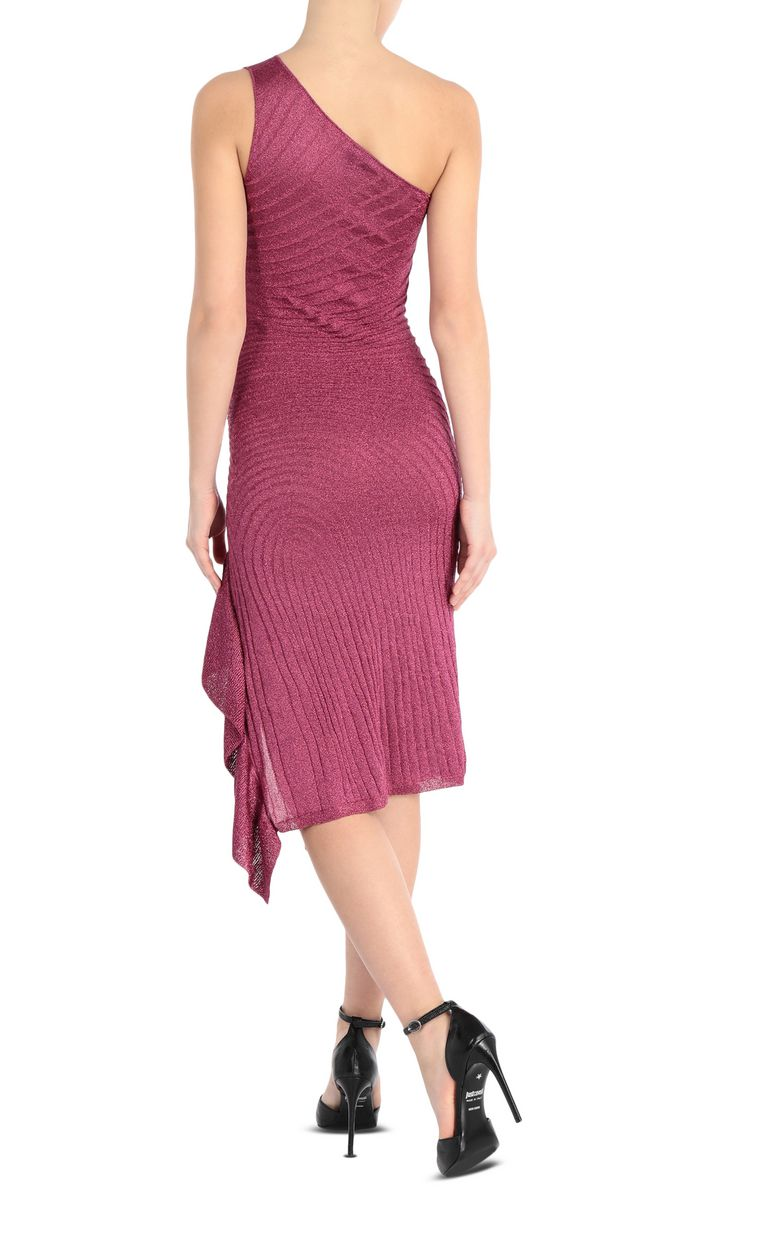 JUST CAVALLI Knitted lurex dress Dress Woman r