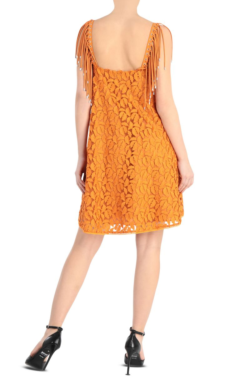 JUST CAVALLI Lace dress Short dress Woman r