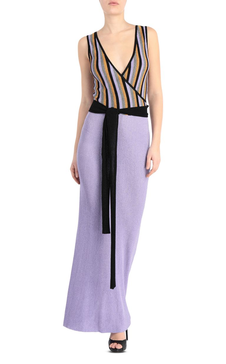 JUST CAVALLI Knitted gown Long dress Woman f