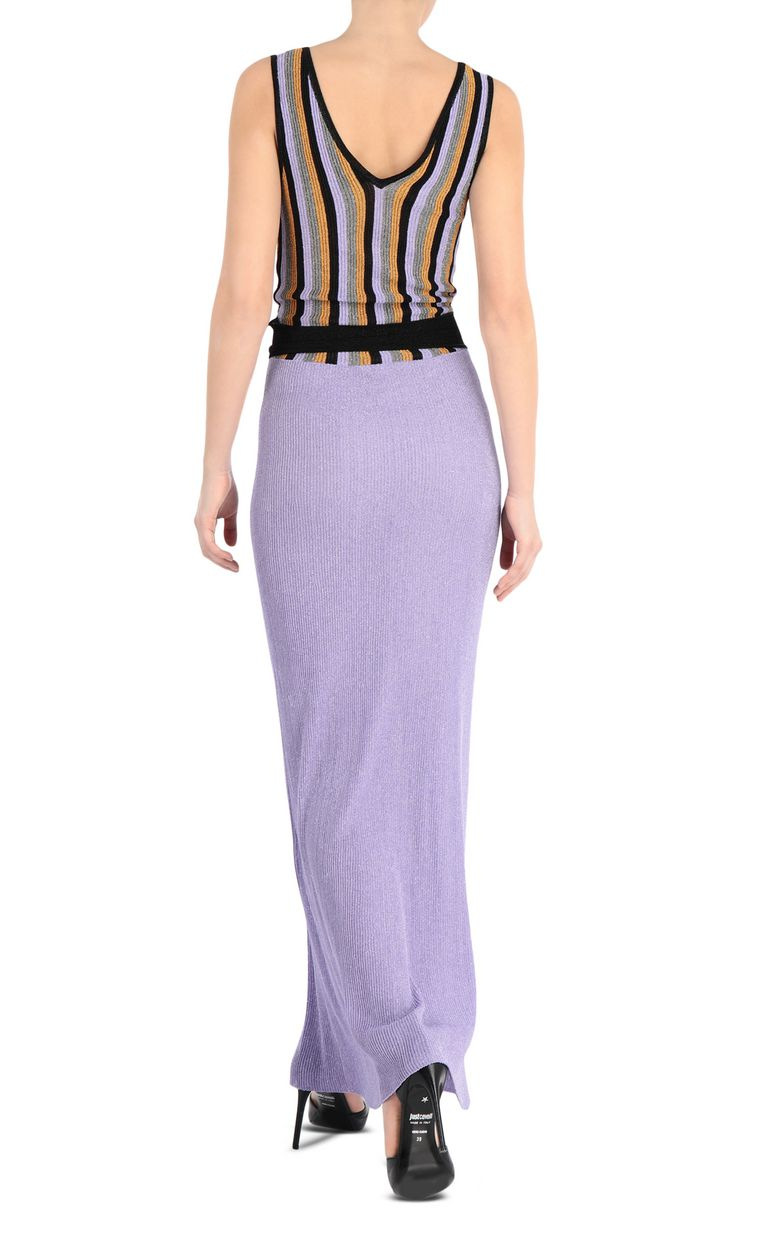 JUST CAVALLI Knitted gown Long dress Woman r