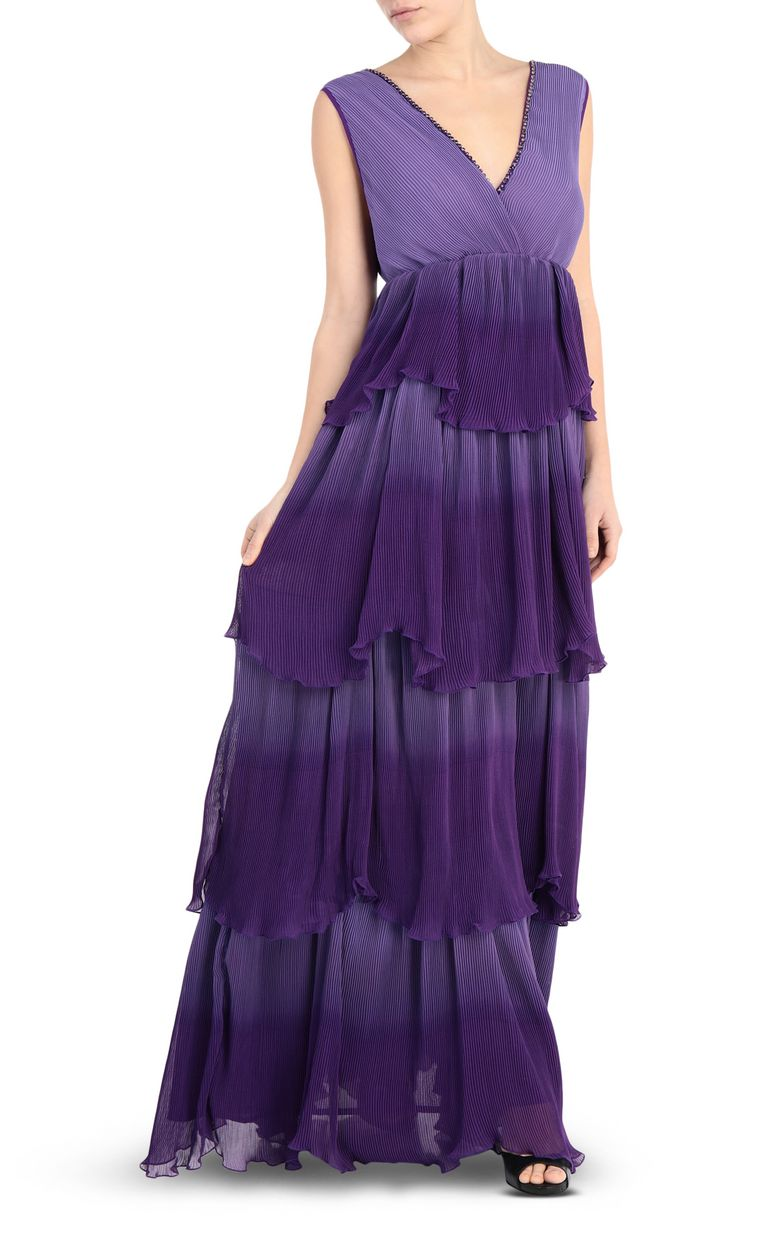 JUST CAVALLI Long pleated dress Long dress Woman f