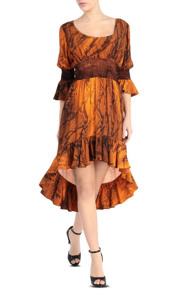 JUST CAVALLI Python-print dress 3/4 length dress Woman f