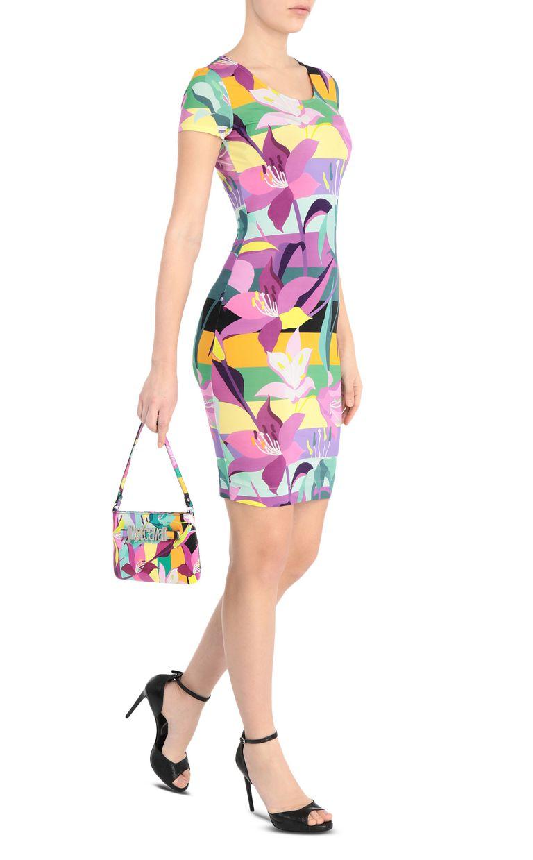 JUST CAVALLI Floral-print dress Short dress Woman d