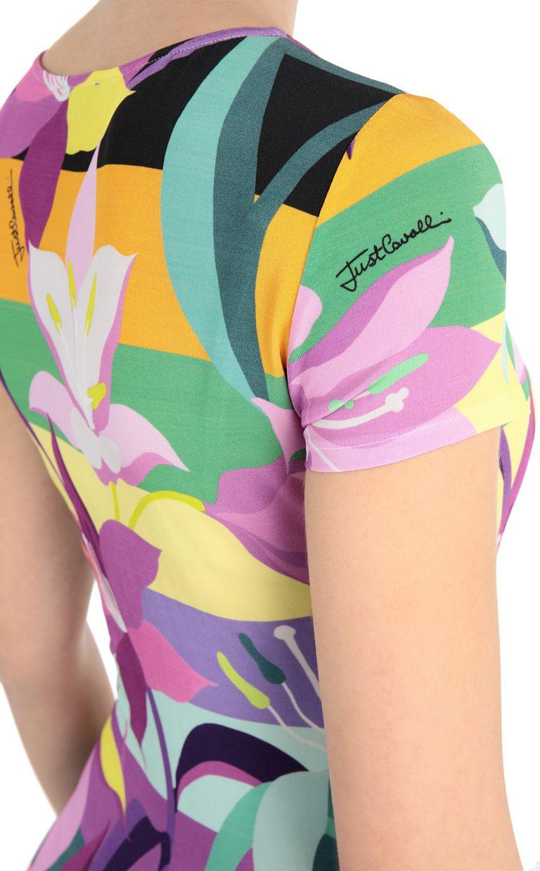 JUST CAVALLI Floral-print dress Short dress Woman e