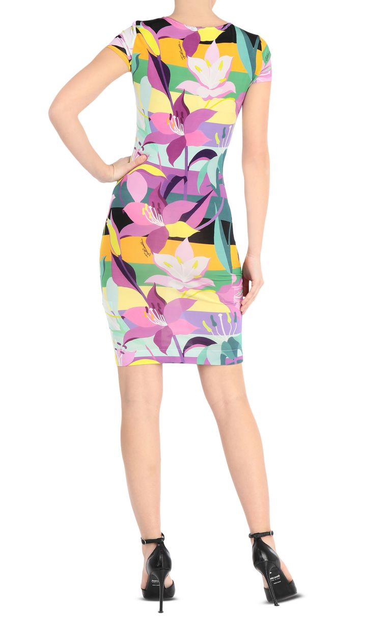 JUST CAVALLI Floral-print dress Short dress Woman r