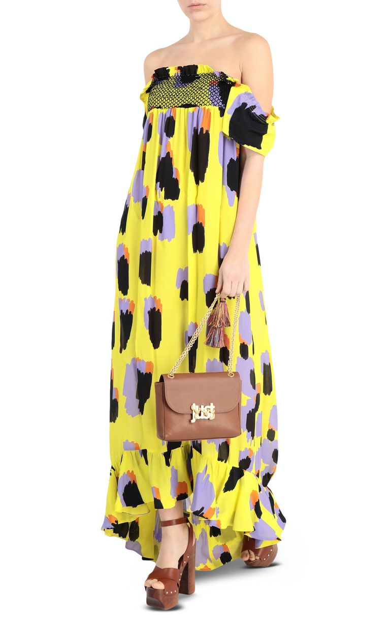 JUST CAVALLI Leopard-print long dress Long dress [*** pickupInStoreShipping_info ***] d