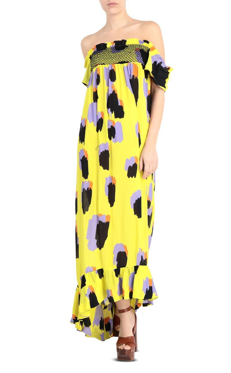 JUST CAVALLI Leopard-print long dress Long dress [*** pickupInStoreShipping_info ***] f