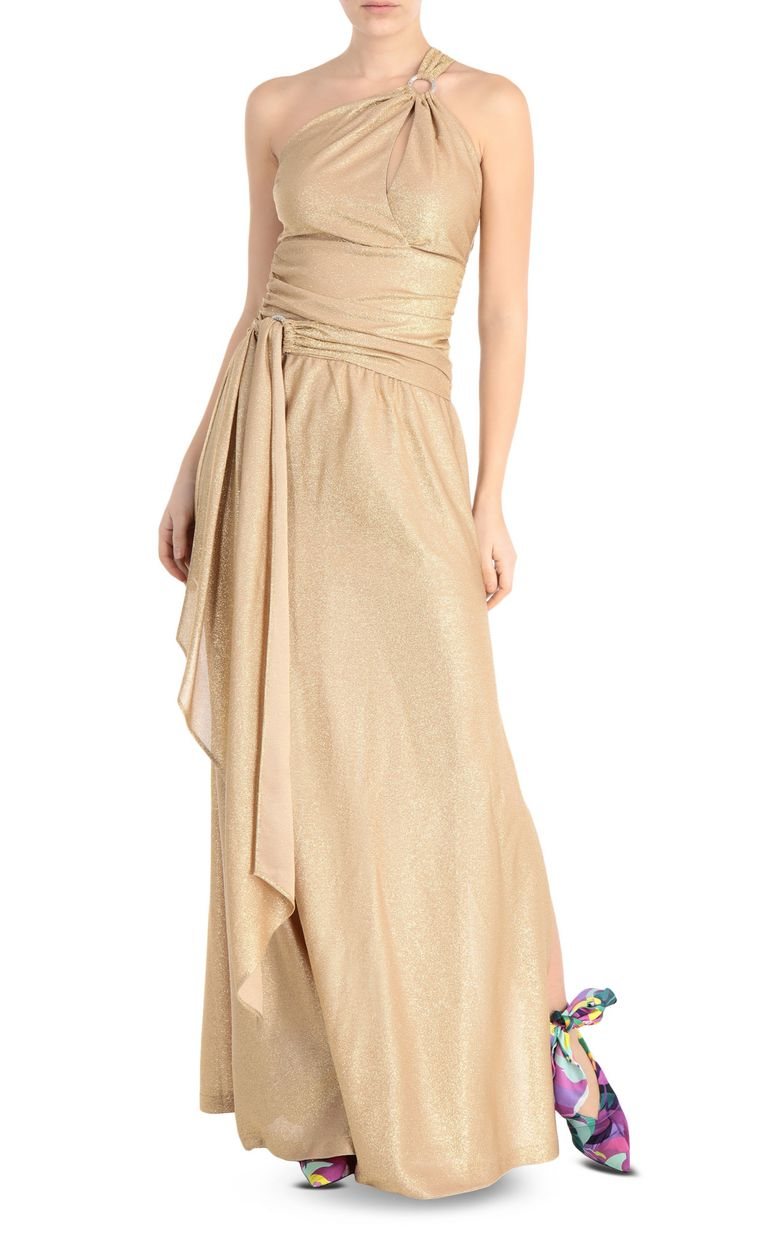 JUST CAVALLI Long dress in lurex Long dress Woman f