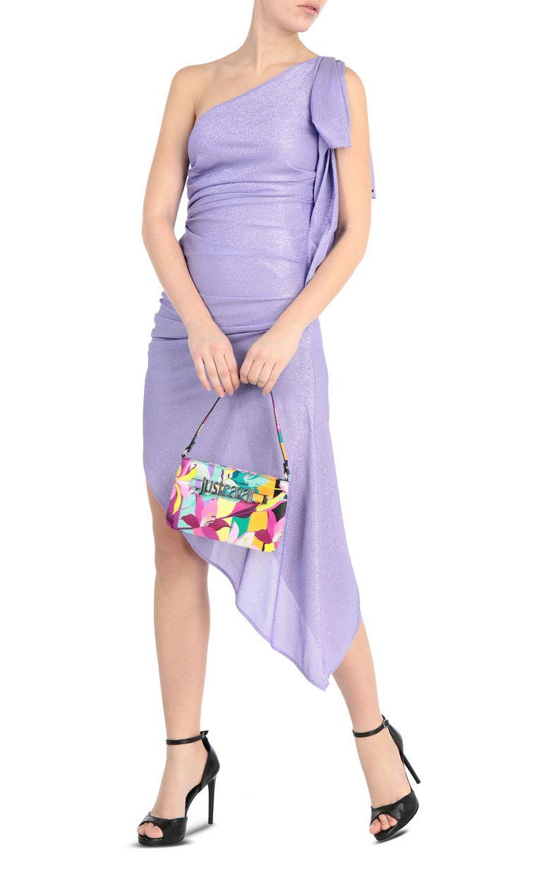 JUST CAVALLI Asymmetric dress with ruffles Dress Woman d