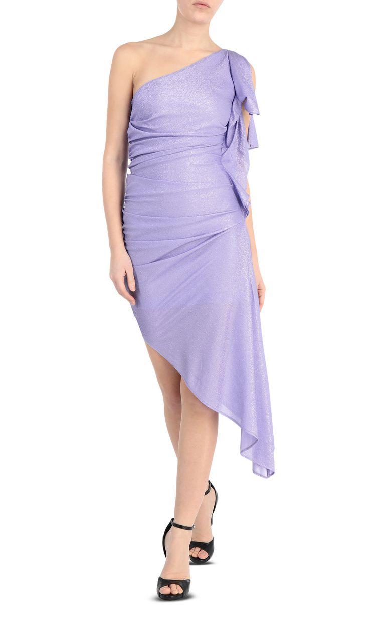 JUST CAVALLI Asymmetric dress with ruffles Dress Woman f