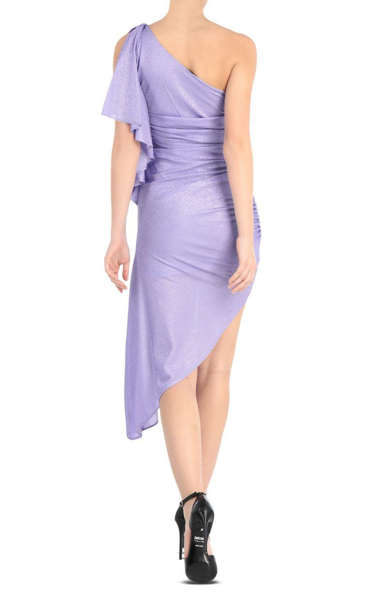 JUST CAVALLI Asymmetric dress with ruffles Dress Woman r