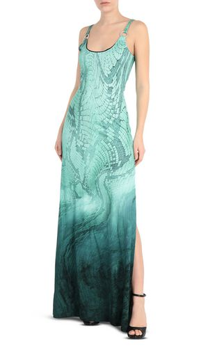 JUST CAVALLI Long dress [*** pickupInStoreShipping_info ***] Python-print long dress f