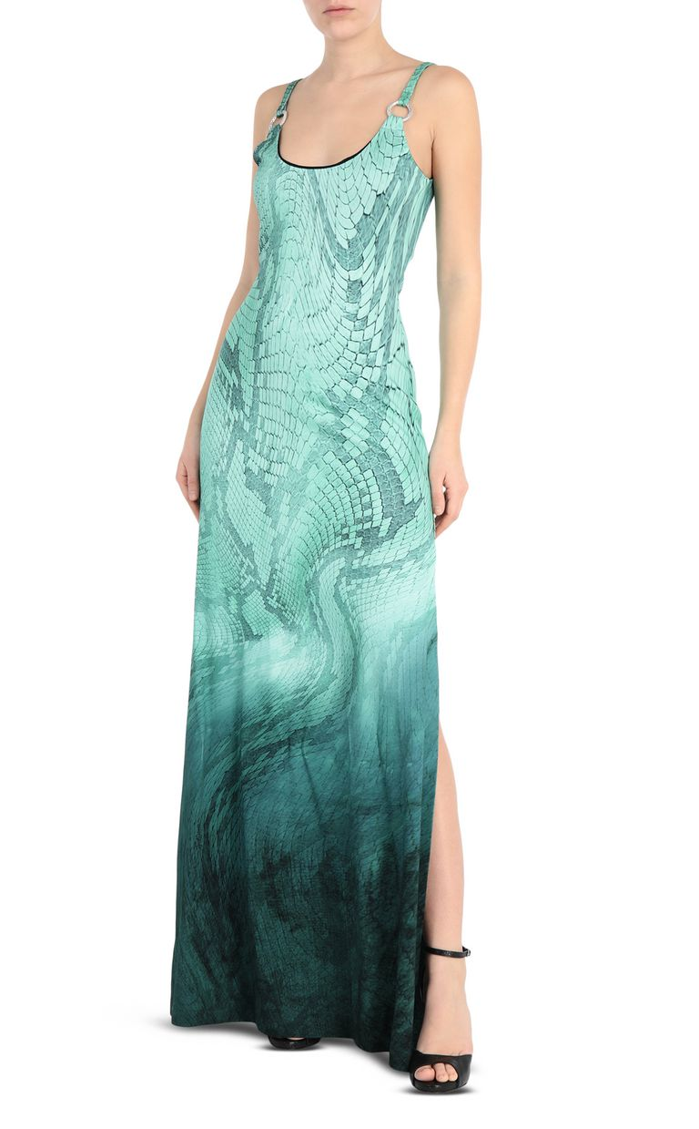 JUST CAVALLI Python-print long dress Long dress [*** pickupInStoreShipping_info ***] f