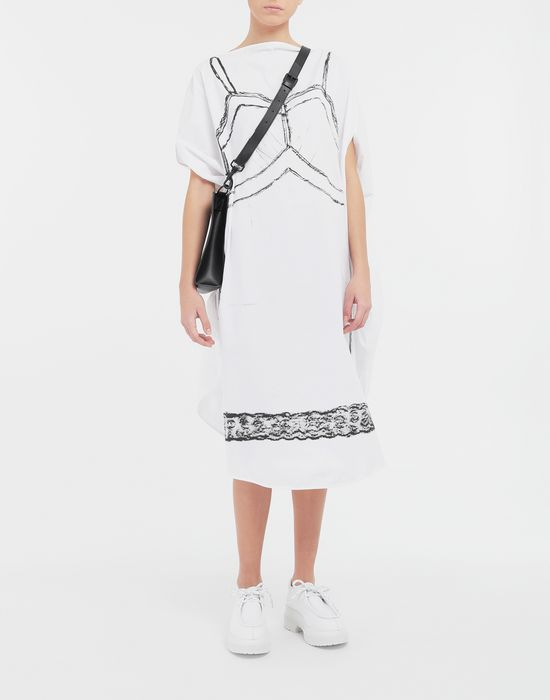 MM6 MAISON MARGIELA Trace Marked printed circle dress 3/4 length dress [*** pickupInStoreShipping_info ***] d