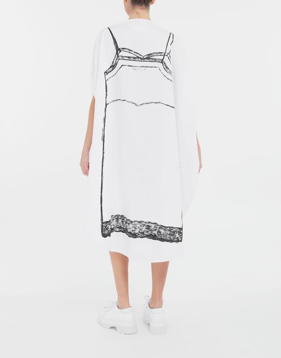 MM6 MAISON MARGIELA Trace Marked printed circle dress 3/4 length dress [*** pickupInStoreShipping_info ***] e