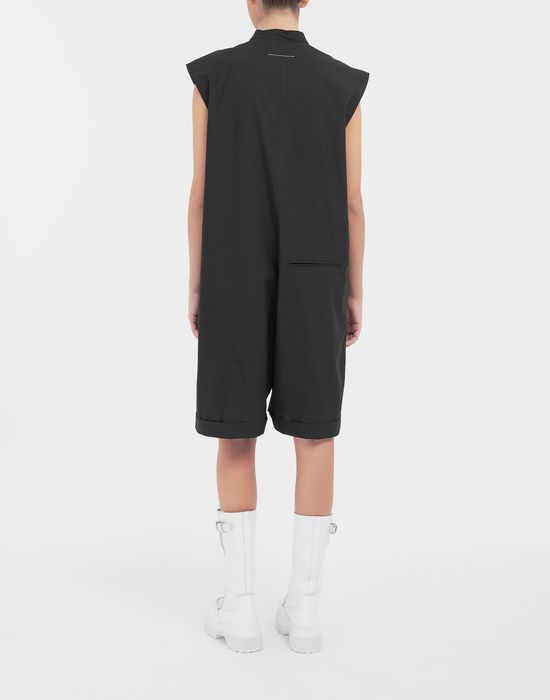 MM6 MAISON MARGIELA Casual cotton-blend playsuit Short dungaree [*** pickupInStoreShipping_info ***] e