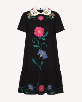 REDValentino Short dress Woman RR3VA7F84AK 0NO a