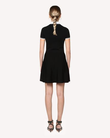 REDValentino RR0KDA46QBE 0NO Knit Dress Woman r