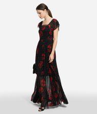 KARL LAGERFELD Платье макси с цветочным мотивом 9_f