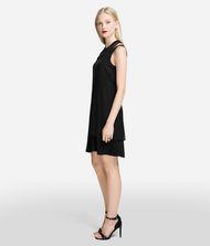 KARL LAGERFELD Double Layer Silk Dress 9_f