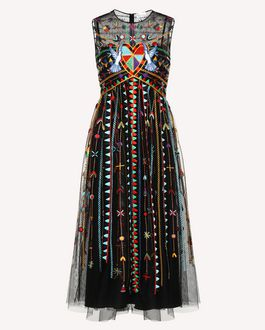 REDValentino Long dress Woman RR0VAD45FHK 0NO a