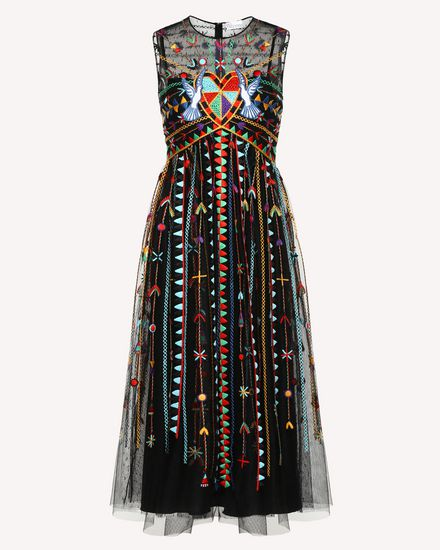 Love Celebration embroidered dress