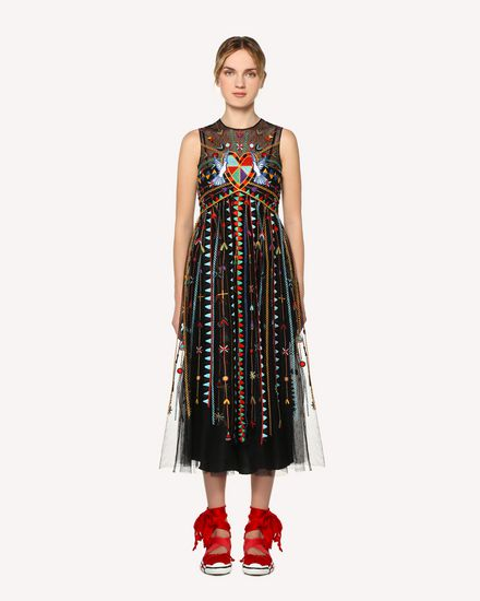 REDValentino Long dress Woman RR0VA02CXEF 0NO f