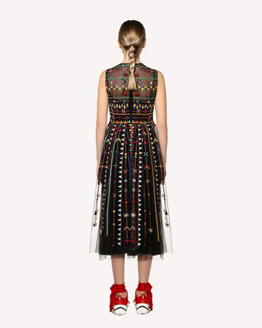 REDValentino RR0VA02CXEF 0NO Long dress Woman r