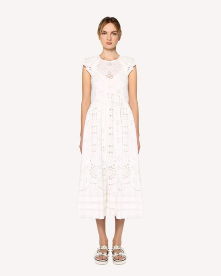 REDValentino Long dress Woman RR0VA02AXYD 031 f