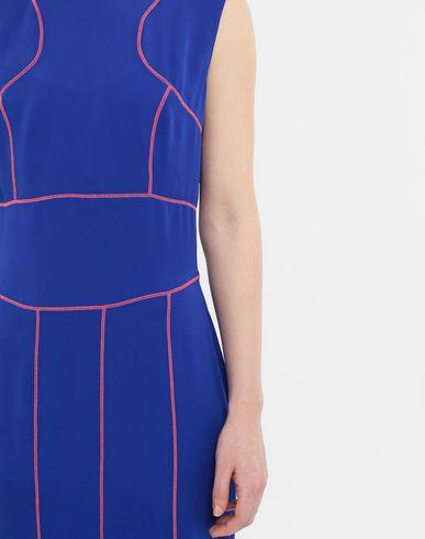 DRESSES Stitch-jacquard silk georgette maxi dress