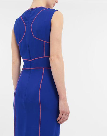 MAISON MARGIELA Stitch-jacquard silk georgette maxi dress Long dress Woman b