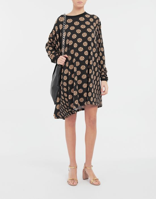 MM6 MAISON MARGIELA Polka dot flower-print shirt dress Short dress [*** pickupInStoreShipping_info ***] d