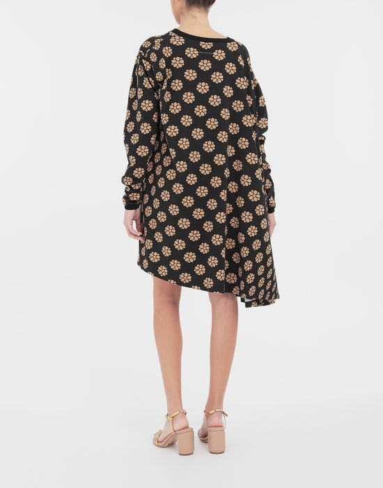 MM6 MAISON MARGIELA Polka dot flower-print shirt dress Short dress [*** pickupInStoreShipping_info ***] e