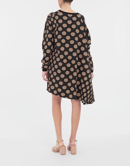 MM6 MAISON MARGIELA Polka dot flower-print shirt dress Short dress Woman e