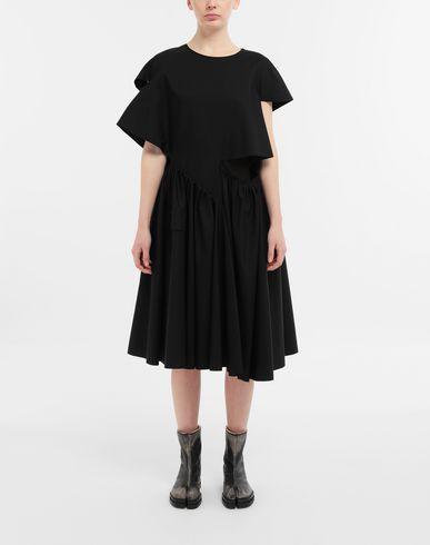 DRESSES Décortiqué gathered midi dress